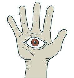 Fantasy hand vector