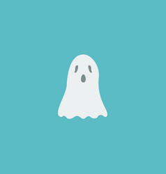 flat icon ghost element of vector image