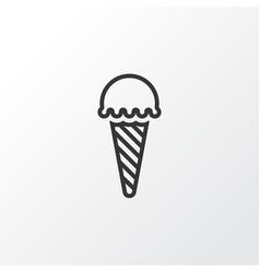 Ice cream icon symbol premium quality isolated vector