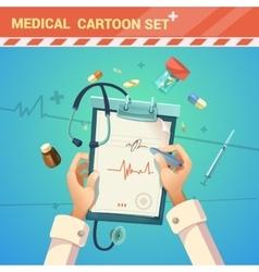 Medicine Cartoon vector image
