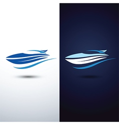 Speed boat2 vector