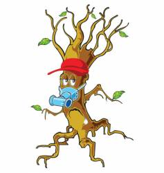 tree man vector image vector image