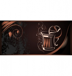 coffee illustration vector image