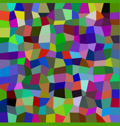 Colorful rectangle mosaic background - polygonal vector
