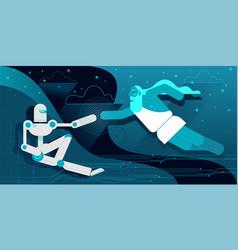 Creation of robot adam vector