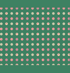 green background with multicolored dots can be vector image