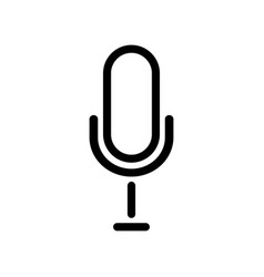 Microphone icon microphone icon in trendy flat vector