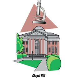 Chapel Hill vector image