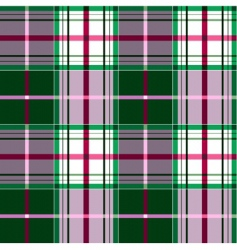 checkered tartan pattern vector image