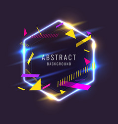 abstract poster for placement text and vector image