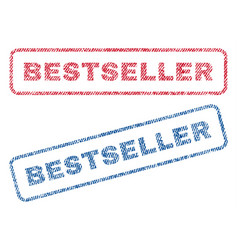 Bestseller textile stamps vector