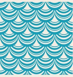 Blue stylish abstract seamless repetition pattern vector