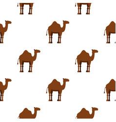 Dromedary camel pattern seamless vector
