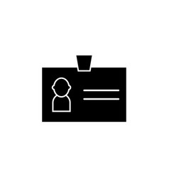id personal image icon signs and symbols can be vector image