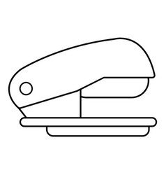 stapler icon outline line style vector image