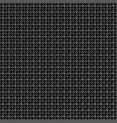 black tattersall pattern vector image