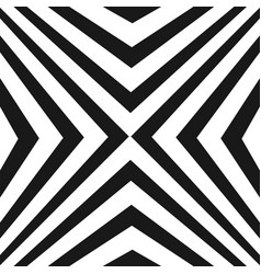 pattern with black and white diagonal stripes vector image