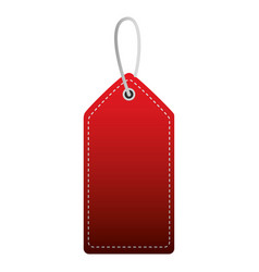shopping online tag price on white background vector image