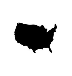 usa map vector image