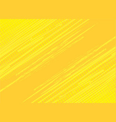 Yellow background hatch with halftone effect vector