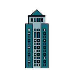 building cityspace skyscraper image vector image