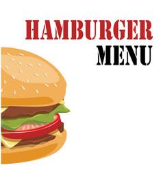 hamburger menu hamburger background image vector image