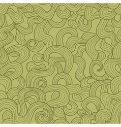 Abstract doodle threads seamless pattern Retro vector image