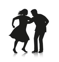 couple dancing Latino dance vector image