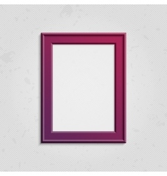 Vinous picture frame with text vector image vector image