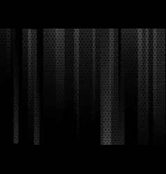 Abstract black geometric vertical with dots vector