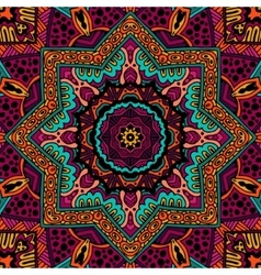 Abstract Tribal vintage ethnic seamless pattern vector image vector image