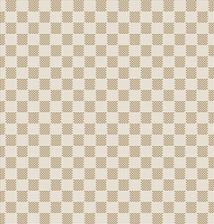 beige seamless fabric texture pattern vector image