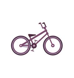 bmx bike modern bicycle vector image