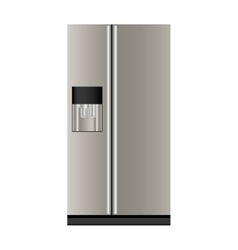 Refrigerator or fridge icon image vector