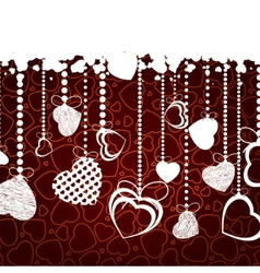 valentine background with copy space eps 8 vector image