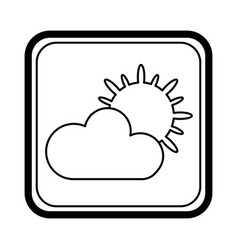 climate application isolated icon vector image vector image