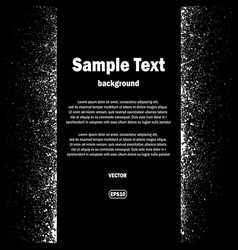 ink blots and text background vector image