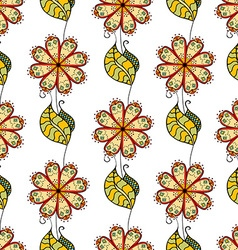 Abstract Floral Patterned Background vector