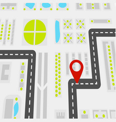 Abstract navigation concept vector