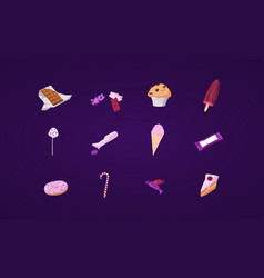 Assets sweets vector