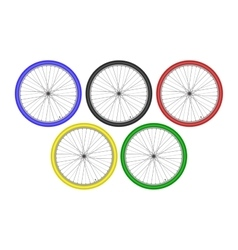 Bike Athletes Sporting Championship International vector image