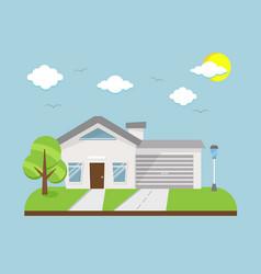 Dream homes simple vector