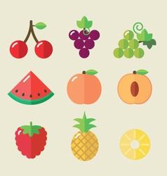 Fruit set II vector image