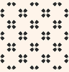 monochrome seamless pattern floral texture vector image