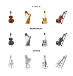 Music and tune symbol vector