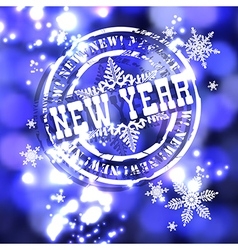New Year background vector