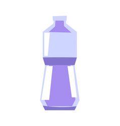 plastic bottle for mineral water or other drinks vector image