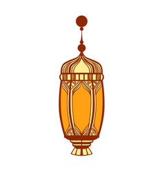 Ramadan lantern colorful vector