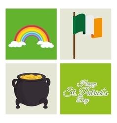 Saint patrick day celebration vector image