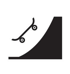Skate park icon design vector